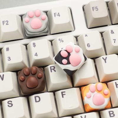 [ZOMOPLUS] 멀티컬러 고양이발 키캡