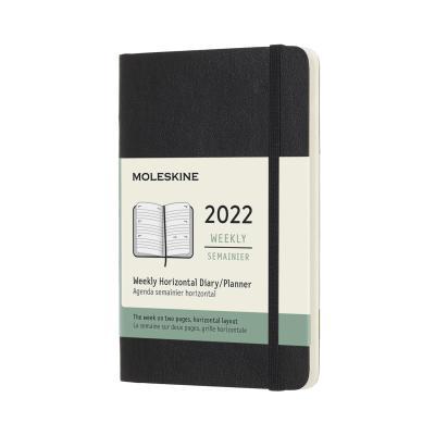 [몰스킨]2022위클리(가로형)/블랙 소프트 P