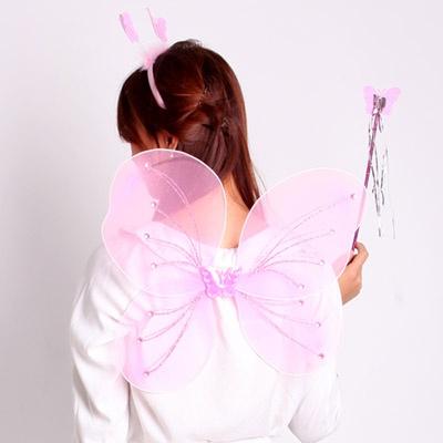 나비요정 4종세트(5~9세) 핑크
