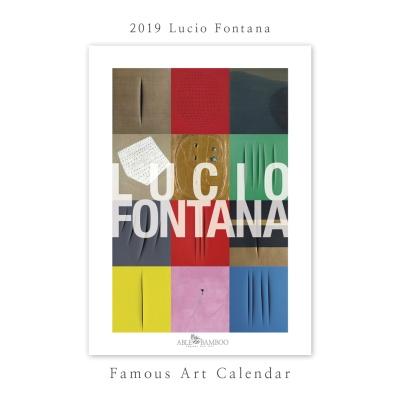 [2019 명화 캘린더]Lucio Fontana 루치오 폰타나 B