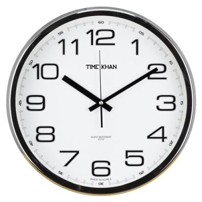 [타임칸] 심플벽시계 (크롬) 3500C-NF [개/1] 379698
