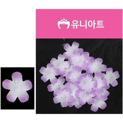 유니아트 벚꽃 백색 보라 조화꽃 꾸미기 장식 소품