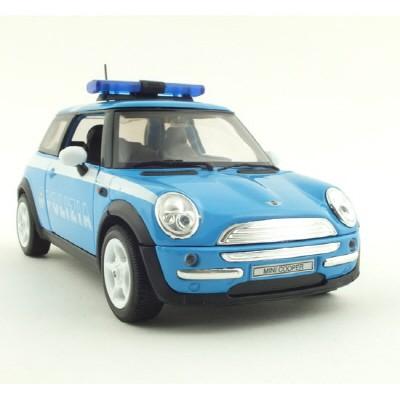 1/24 MINI COOPER POLIZIA (WE120757PO) 미니쿠퍼 경찰차 미니카 모형자동차