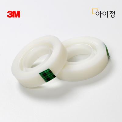 3M 스카치테이프 리필 1+1 810R(12mm*18m) 매직테이프