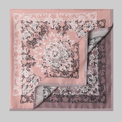 Twin Paisley Square Scarf