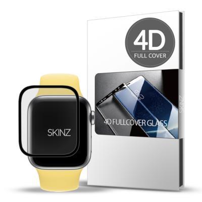 스킨즈 애플워치SE 4D 풀커버 강화유리 필름 44mm 1매