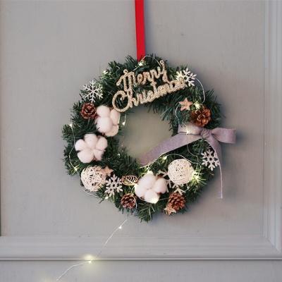 크리스마스 리스(소-전구포함)