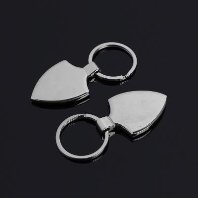 실버 로고 키홀더 열쇠고리(뱃지)