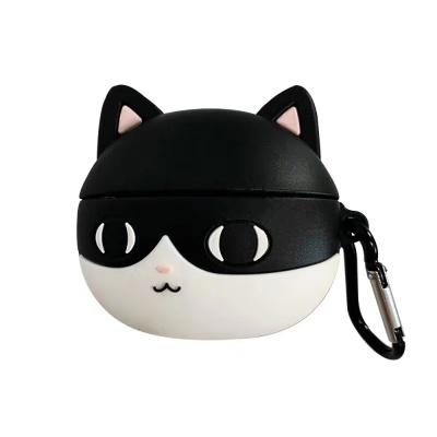 에어팟 3세대 검은 고양이 에어팟 프로 케이스