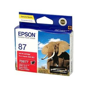 엡손(EPSON) 잉크 C13T087790 / NO.87 / 빨강 / Stylus Photo R1900