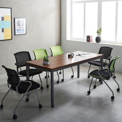 (특가-재고한정)4인6인 회의용테이블 철제 사무실책상