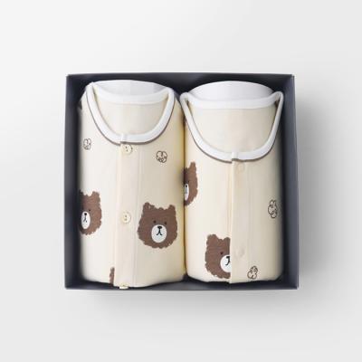 [메르베] 파마했곰 돌선물세트(내의+수면조끼)_겨울용