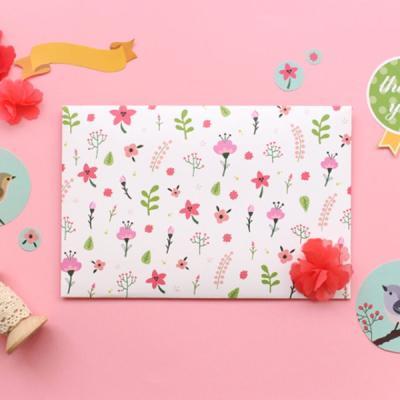 작은꽃카드봉투10p