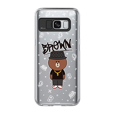 Galaxy S8 BROWN SWAG Light UP Case