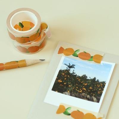 제주 새콤한 감귤 마스킹테이프