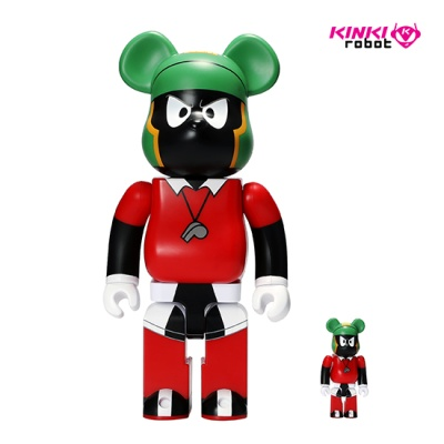 400%+100%베어브릭 MARVIN THE MARTIAN 1901012