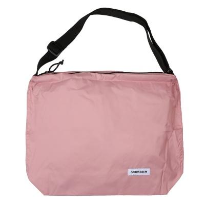 콤마스 방수 숄더백 / 핑크