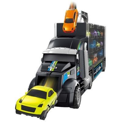 트럭 캐리어 미니카 세트 자동차 장난감