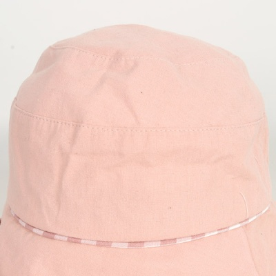 [디꾸보]체크 배색 버킷햇 여성모자 DCH-JAN299