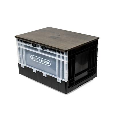 루엣비든 캠핑 폴딩 박스 (시크 블랙)
