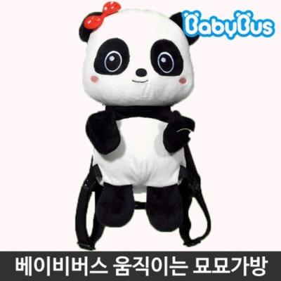 베이비버스 묘묘가방 유아 인형 캐릭터 장난감 완구
