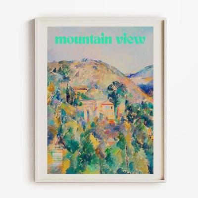 Mountain view 홈데코 액자