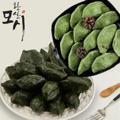원조 한산 모시잎 찐 송편 선물박스 1.2kg/25개