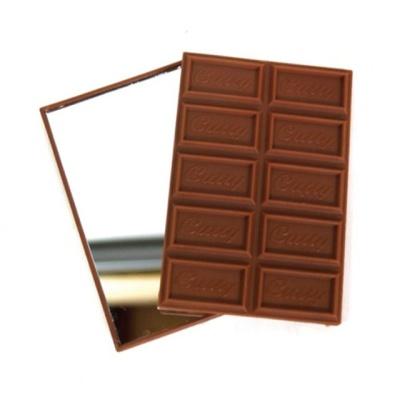 초콜렛손거울 초코릿 손거울 휴대용거울 실과 수업용
