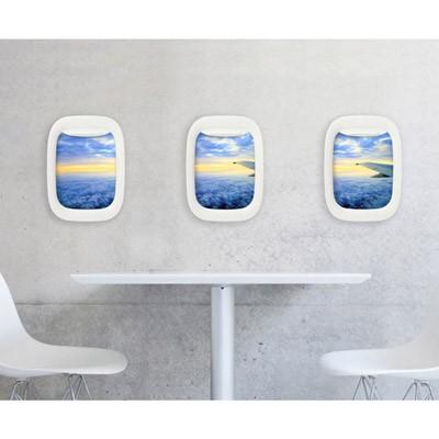 비행기창문액자 세트