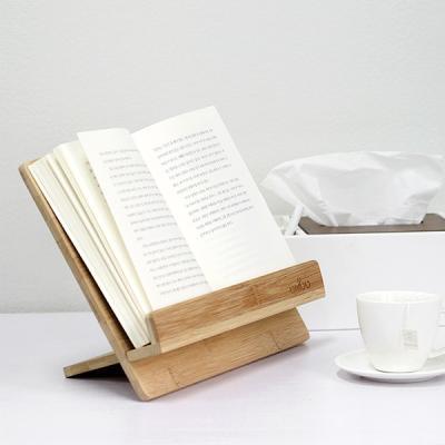 자연을 담은 내츄럴 우드 독서대 BAMBOO BOOK STAND