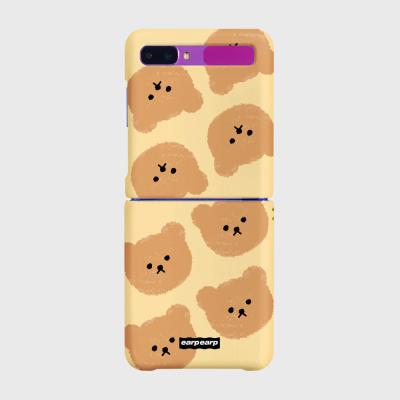 Dot big bear-ivory(Z플립-하드)