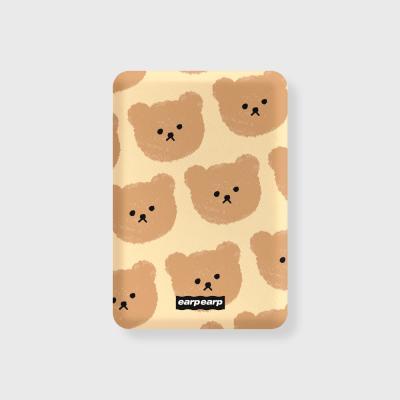 Dot big bear-ivory(무선충전보조배터리)