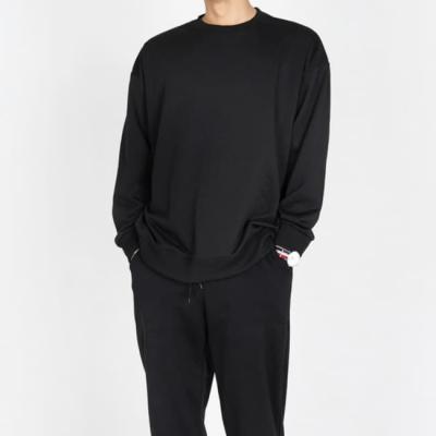 남성 남자 긴팔 티셔츠 여름 데일리 오버핏 맨투맨