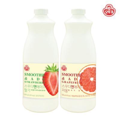 [오뚜기] 스무디앤에이드 딸기,자몽 골라담기