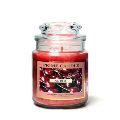 [아로마캔들] 아로마 자캔들 - 핑크베리 Pinkberry 430g