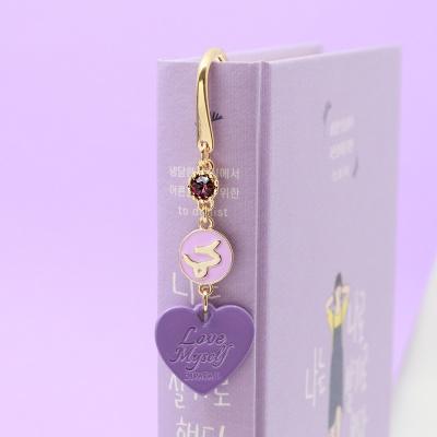 [선물포장] 탄생석 + 별자리 북마크 라벤더