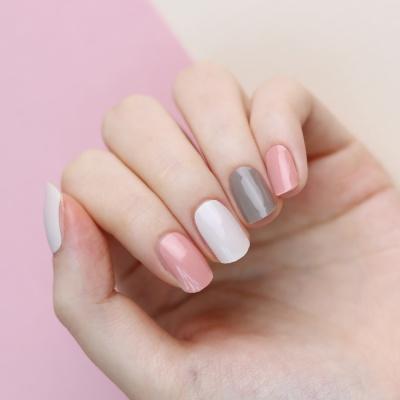 [글로시블라썸] 겨울 네일 폴링 인 핑크