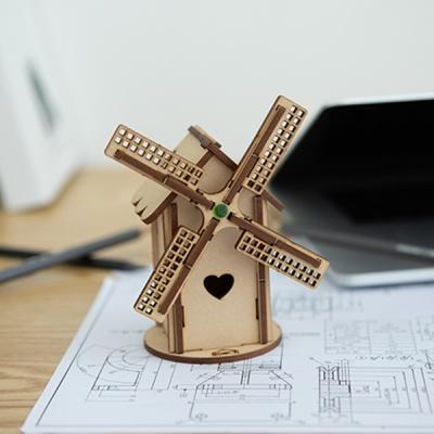 [빙글빙글 풍차 ] DIY 어린이 코딩 조립 나무 장난감