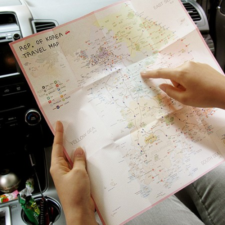 Rep. of Korea Travel Pocket Map - 더하기 한국지도