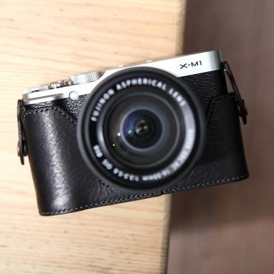 Fujifilm X-M1 & X-A1 & X-A2 속사케이스 - 블랙 (후지필름 전용)