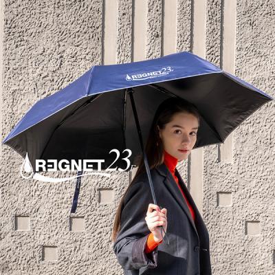 레그넷 리사이클 UV차단 3단 완자동 양우산 23F