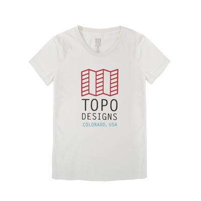 토포디자인 LOGO TEE NATURAL TDOLT015