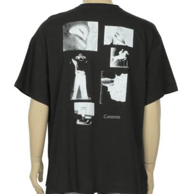 남성 여성 여름 데일리 반팔 티셔츠 게르츠 필름티