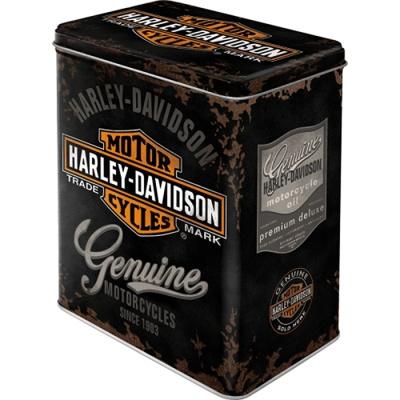 노스텔직아트[30107] Harley-Davidson Genuine Logo