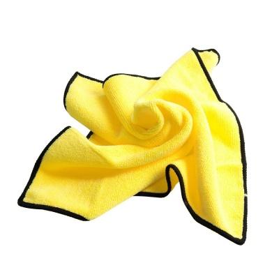 세차용 타올(40x40cm) 극세사 Yellow