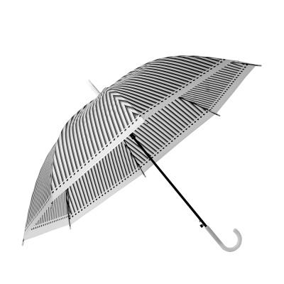 스트라이프 장우산/ 반자동 비닐우산