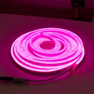 인테리어 LED 스트랩 조명 줄네온 / 핑크 5M LCBB946