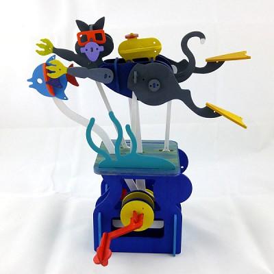 스쿠바다이빙 캣 - Scuba Diving Cat