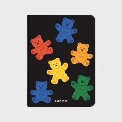 Big color bear-black(아이패드-커버)