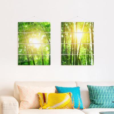 nk911-햇살이들어오는대나무숲(4단대형)